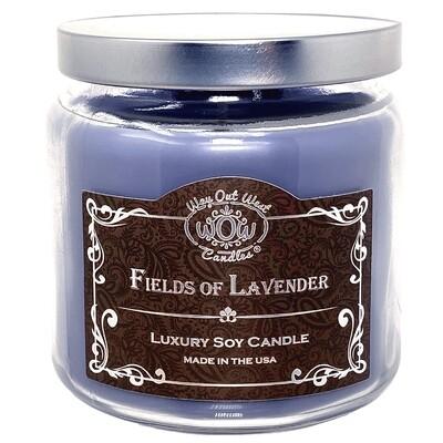 Luxury Fields of Lavender