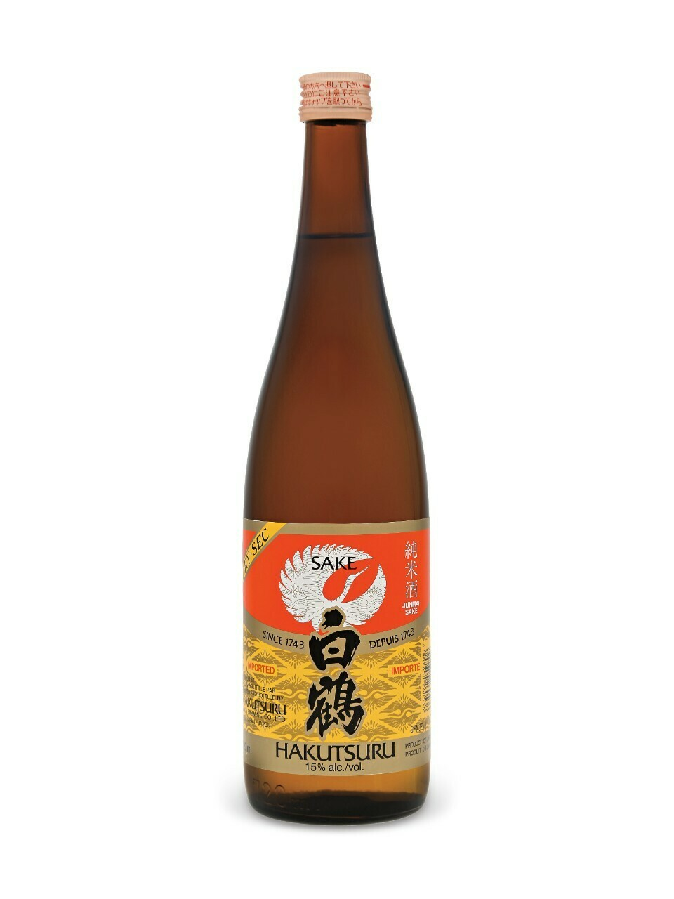 Saké Hakutsuru  720 ml