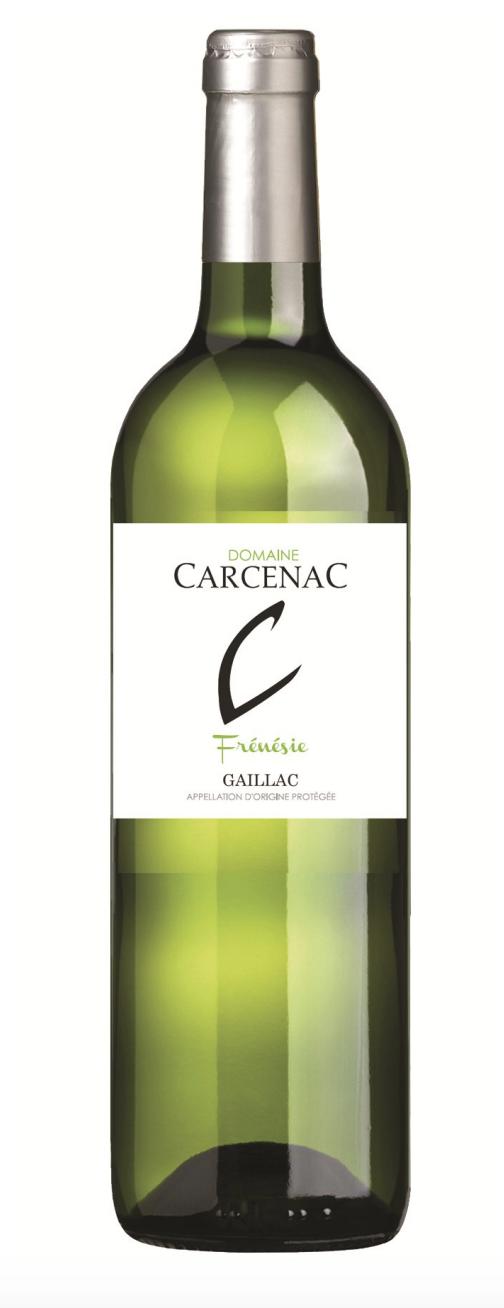 Vin Blanc Frénésie 750ml