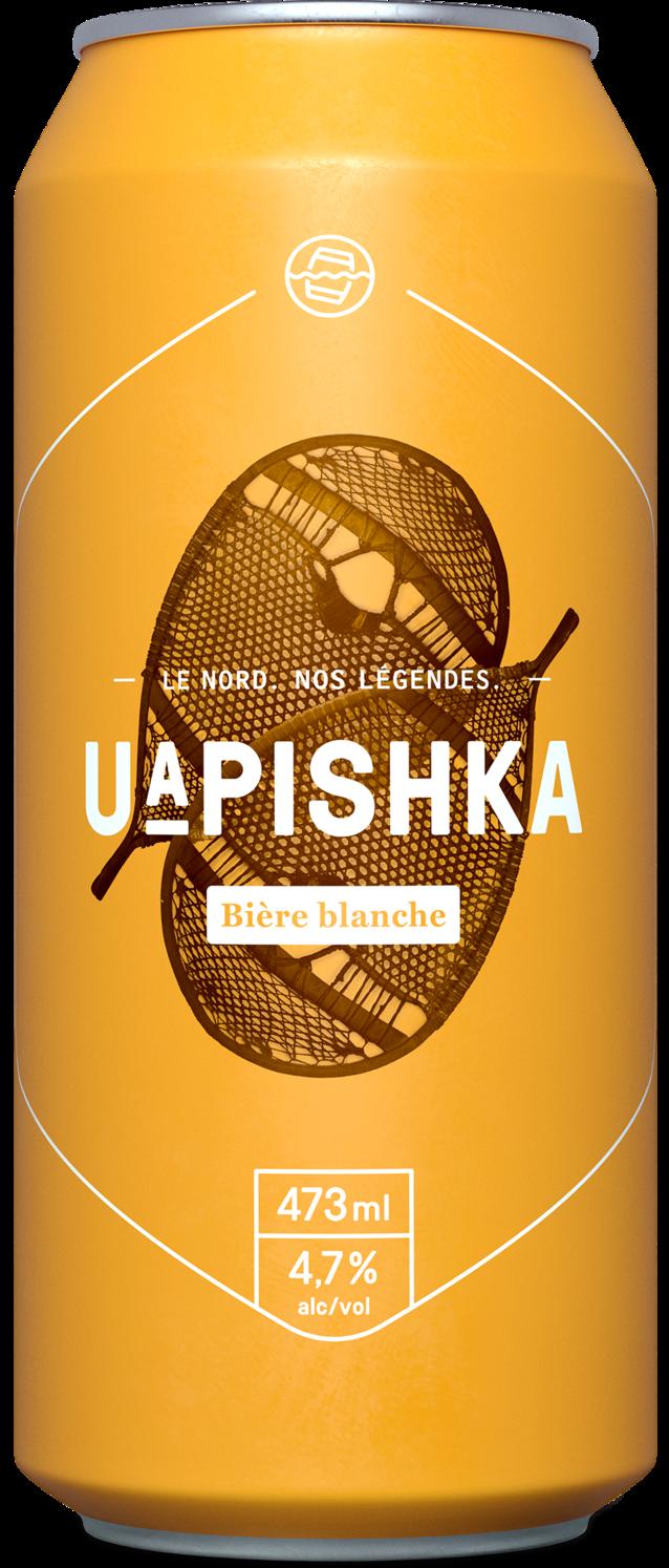 Bière UAPISHKA de St-Pancrace
