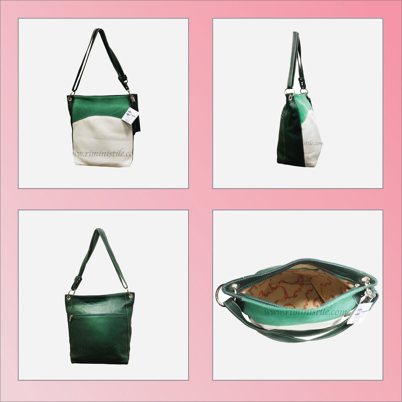 """Laukku """"Salvia"""" (vihreä)"""