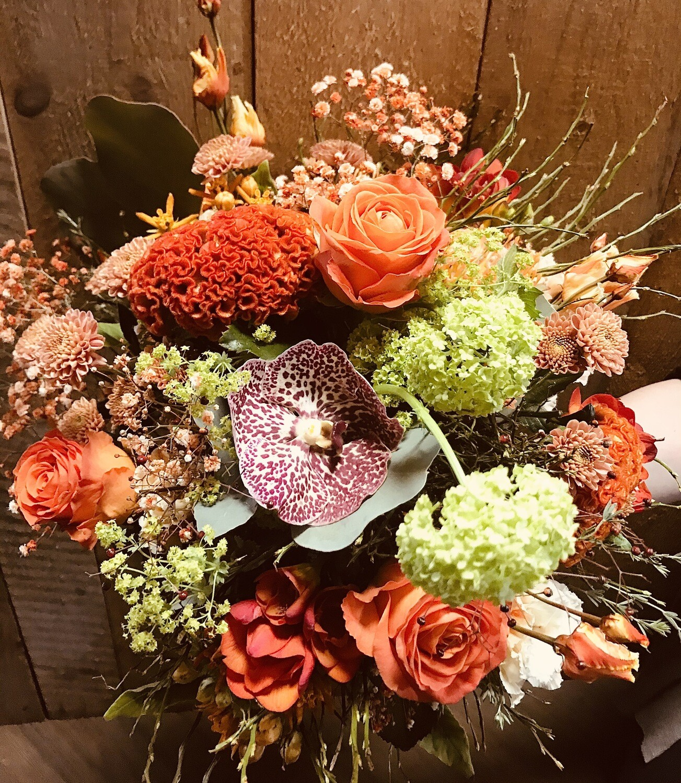 """Bouquet rond """"Vitaminé"""" (petit)"""