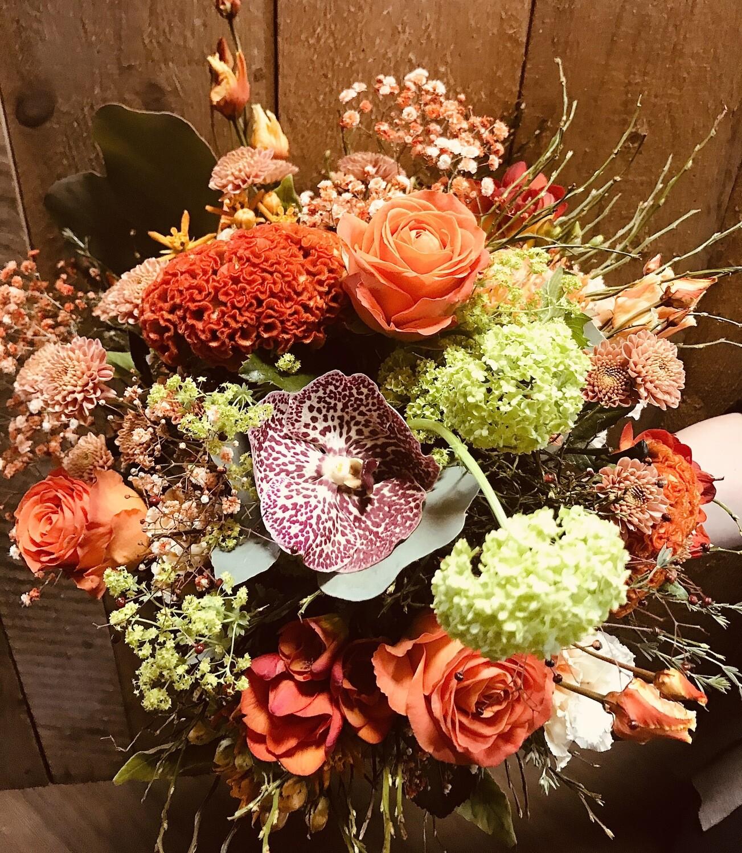 """Bouquet rond """"Vitaminé"""" (grand)"""