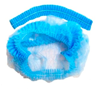 Touca  Enfermeiro Clip Cap (Embalagem 100un)