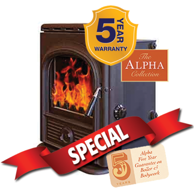 Hi-Flame Alpha Boiler Stove