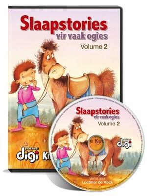 Luisterboek: Slaapstories vir Vaak Ogies - Volume 2