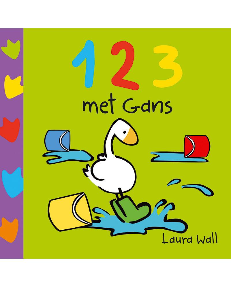 GANS Kartonboek - 123 MET GANS