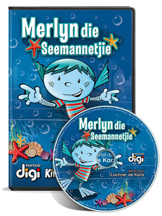 Luisterboek: Merlyn die Seemannetjie