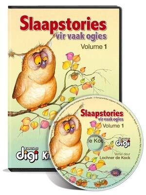 Luisterboek: Slaapstories vir Vaak Ogies - Volume 1