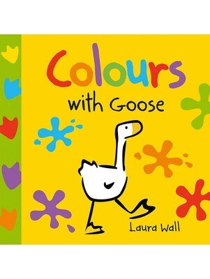 GOOSE Board Book - COLOURS WITH GOOSE