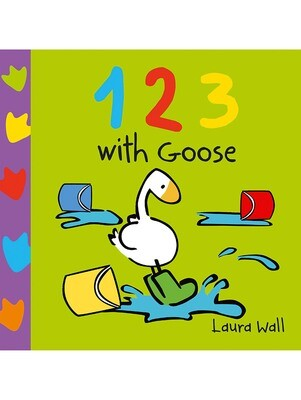 GOOSE Board Book - 123 WITH GOOSE