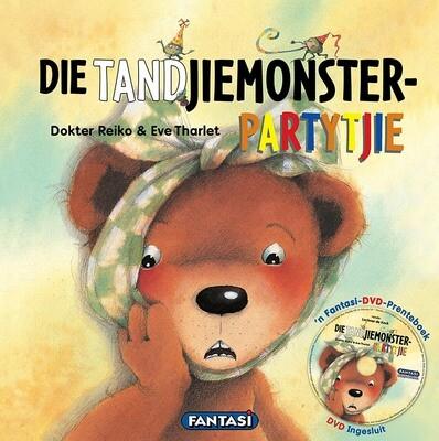 DIE TANDJIEMONSTER-PARTYTJIE - Boek en DVD