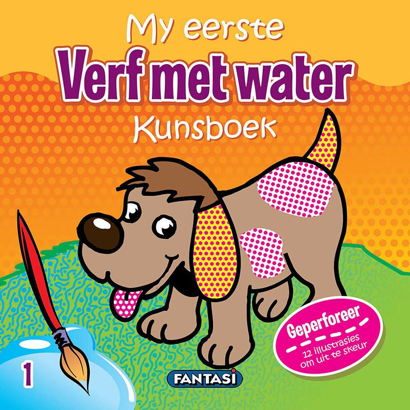 MY EERSTE KUNSBOEK – VERF MET WATER 1