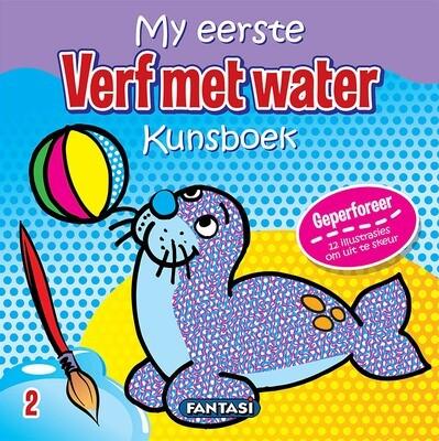 MY EERSTE KUNSBOEK – VERF MET WATER 2