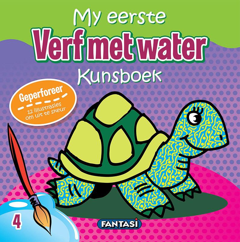 MY EERSTE KUNSBOEK – VERF MET WATER 4