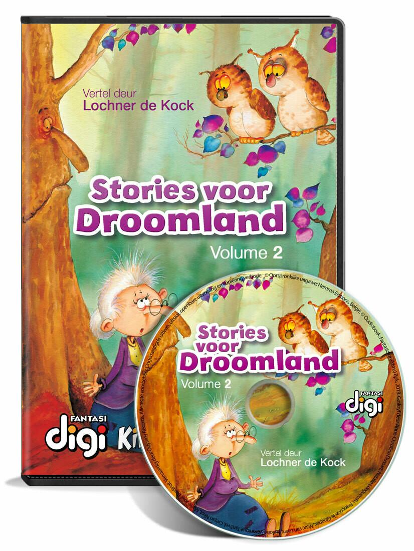 Luisterboek: STORIES VOOR DROOMLAND VOL. 2