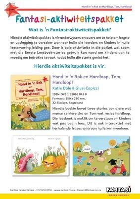 Aktiwiteitspakket - Hond in 'n Rok en Hardloop, Tom, Hardloop! - Gratis