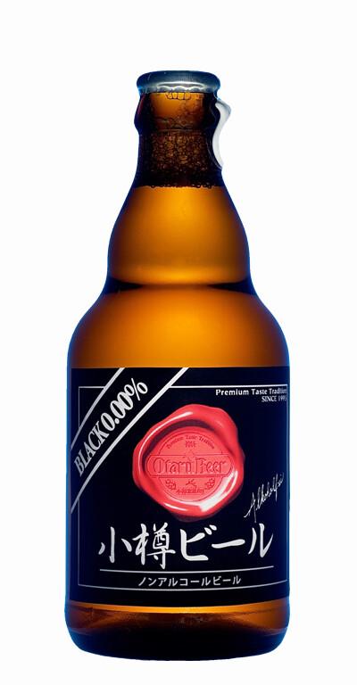 ノンアルコールビール ブラック ボトル 12本入