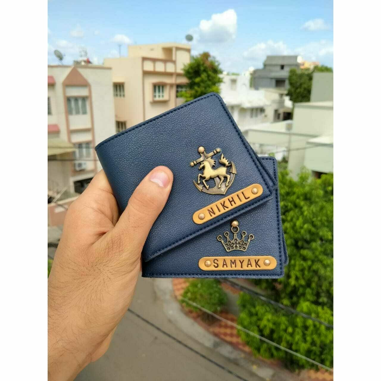 Customized Men's Wallet | Personalised Gift