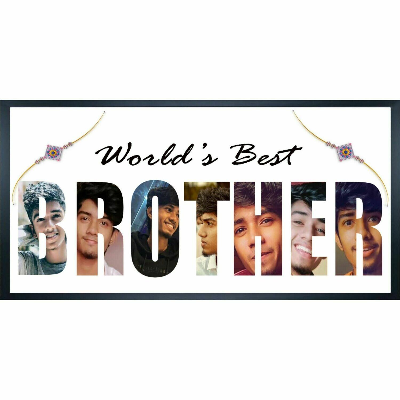 Best Brother Photo Frame | Rakhi Gift | Raksha Bandhan
