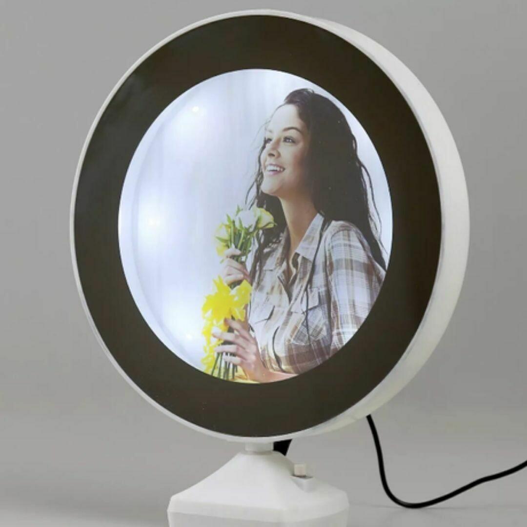 LED Magic Photo Frame | 2 in 1 Mirror Photo Frame