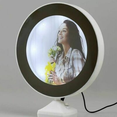 LED Magic Photo Frame | 2 in 1 Mirror Photo Frame