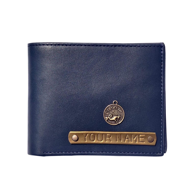 Customised Zodiac Wallet | Personalised mens wallet