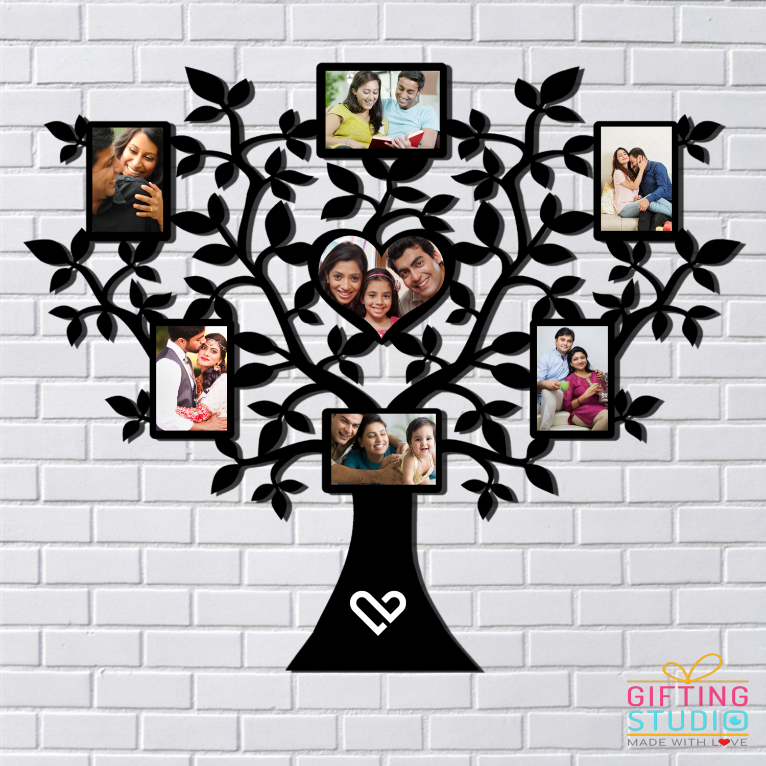 Family Tree Wall Decor - Personalised Wall Hanging