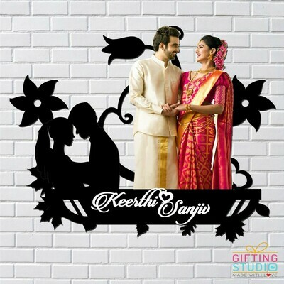 Wall Couple Photo Frame - Couple Picture Frames