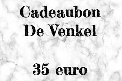 Cadeaubon - 35 euro