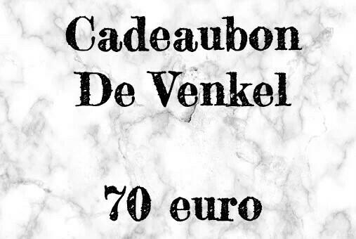 Cadeaubon 70 euro