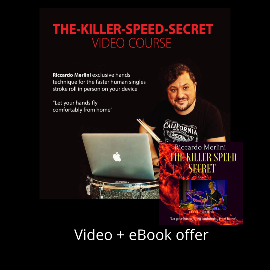 The-Killer-Speed-Secret_Vol. 1  Video + eBook