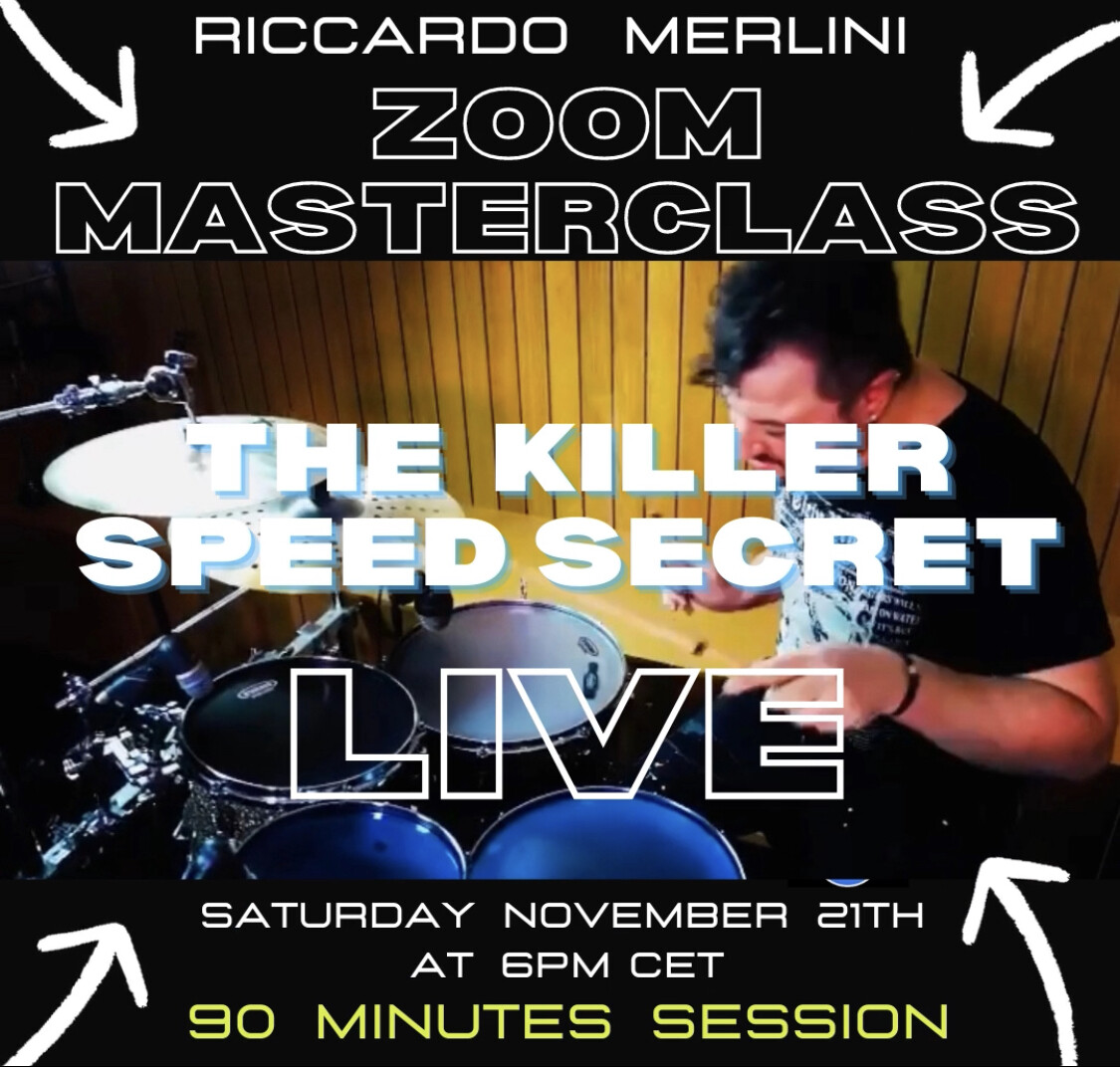 ONLINE MASTERCLASS - Saturday November the 21th