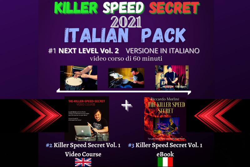 ITALIAN PACK❕2 Video Corsi + eBook