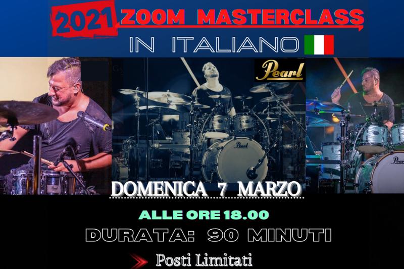 ITALIAN ZOOM MASTERCLASS - 7 Marzo 2021