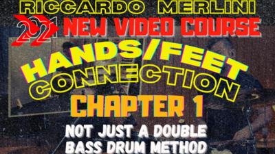 """DOUBLE BASS DRUM TECHNIQUE """"HANDS/FEET CONNECTION"""" - Video Course"""
