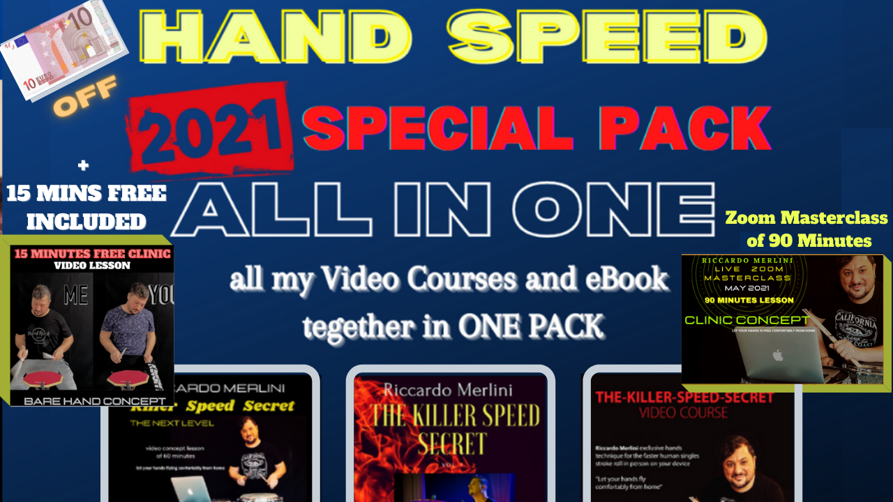 HAND SPEED❕5 IN ONE PACK (Save 10€)