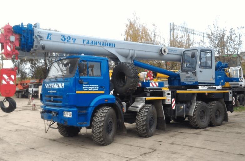 Аренда крана 32 т Москва и Московской области