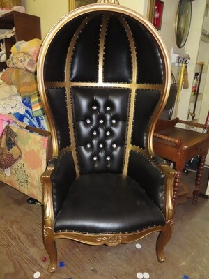 Ebony Canopy Chair
