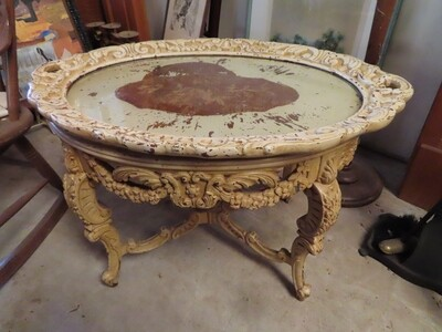French Provincial Cocktail Table