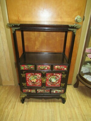 Chinese Cabinet with Shelf