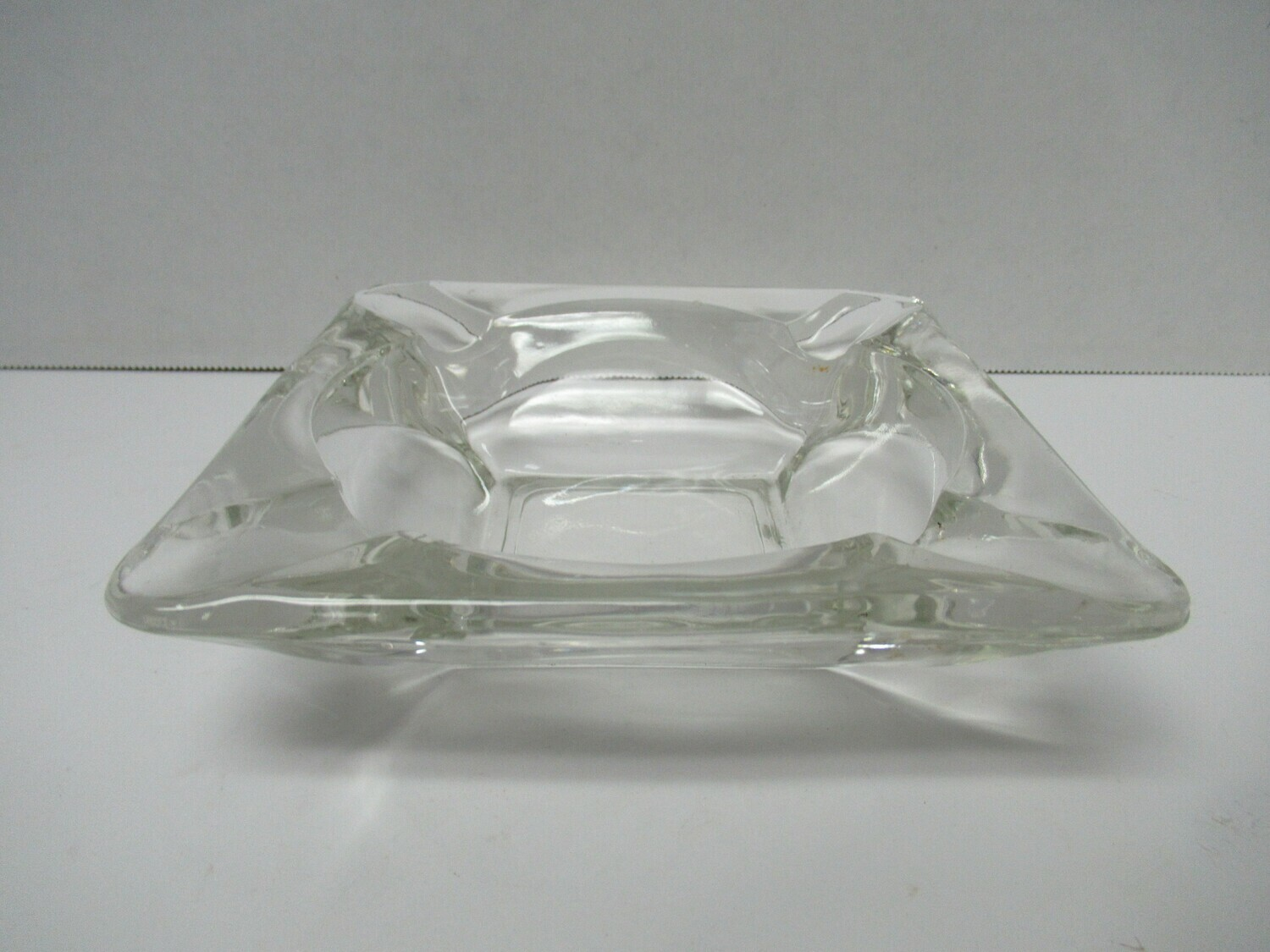 Clear Vintage Ashtray