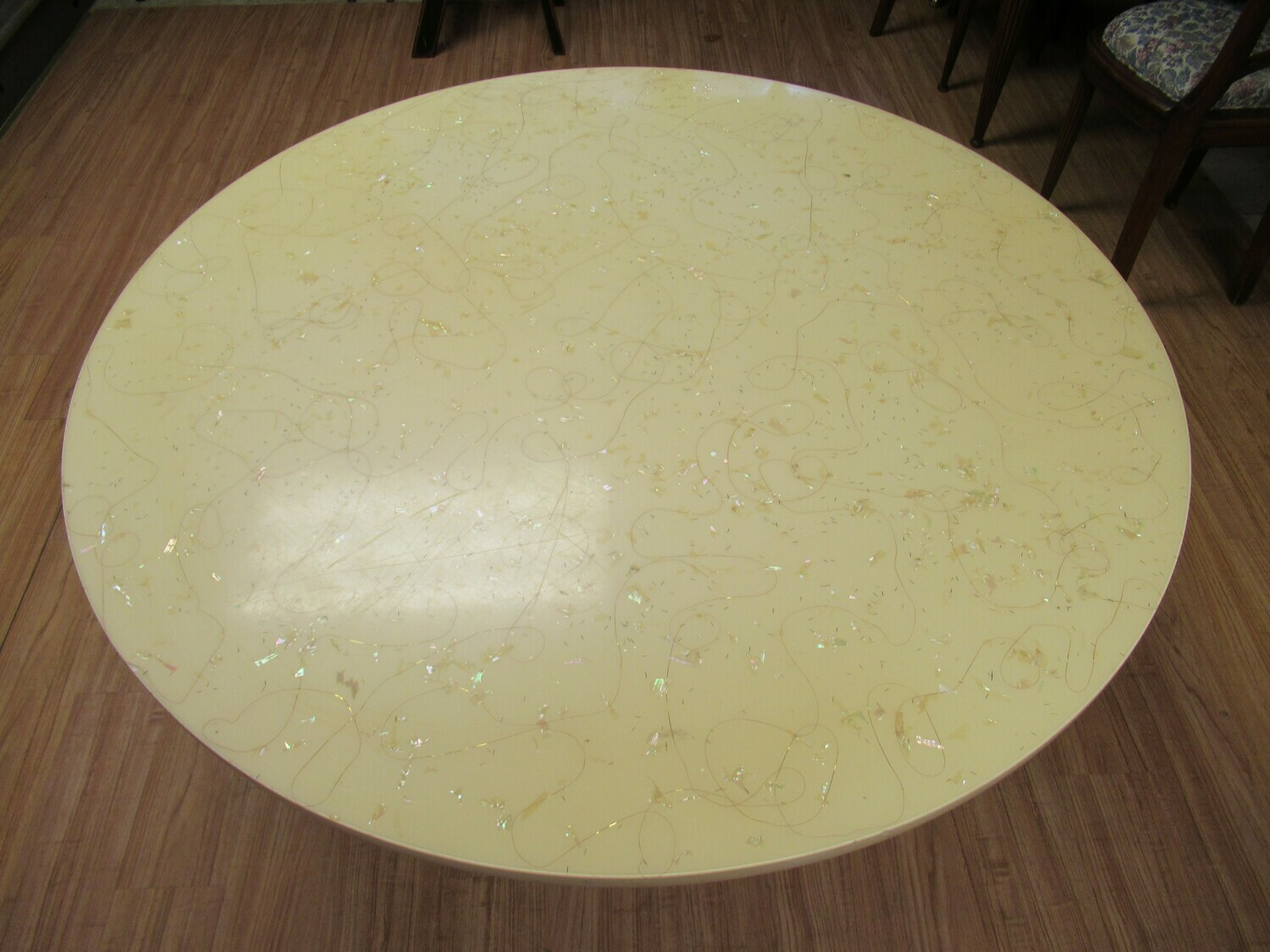 MCM Round Top Dining Table