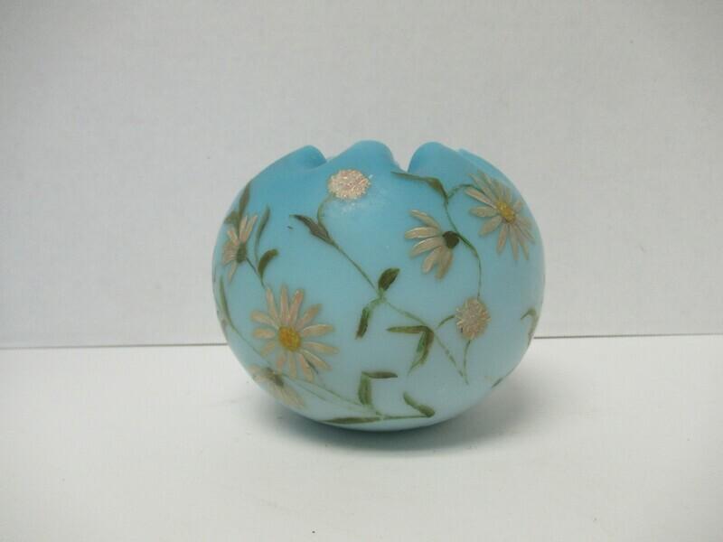 Hand Painted Fenton Bowl