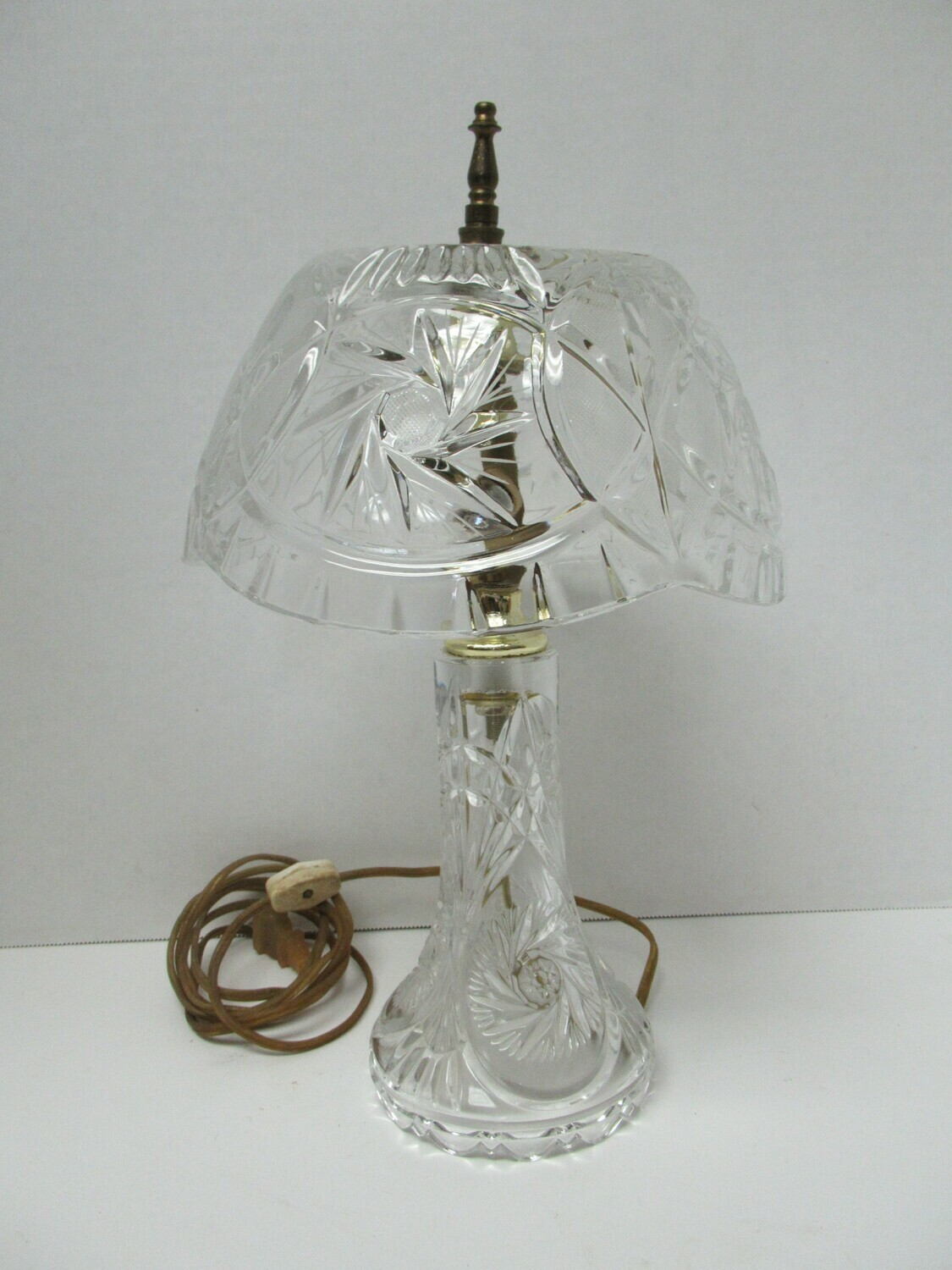 Made In Poland Crystal Lamp