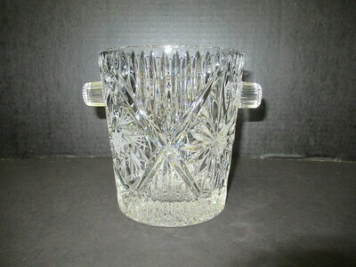 Crystal Hand Cut and Pressed Wine Cooler