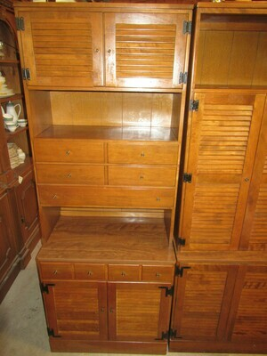 Ethan Allen Wooden Office Unit