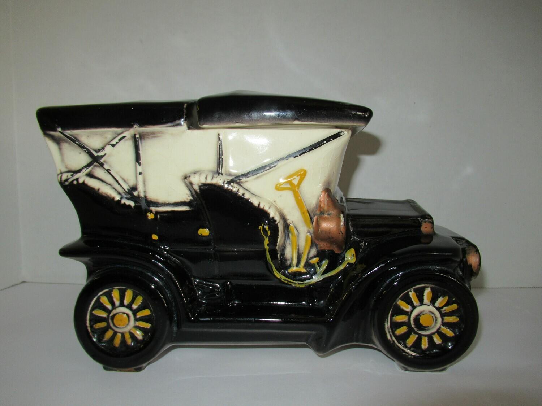 Touring Car McCoy Cookie Jar 1962