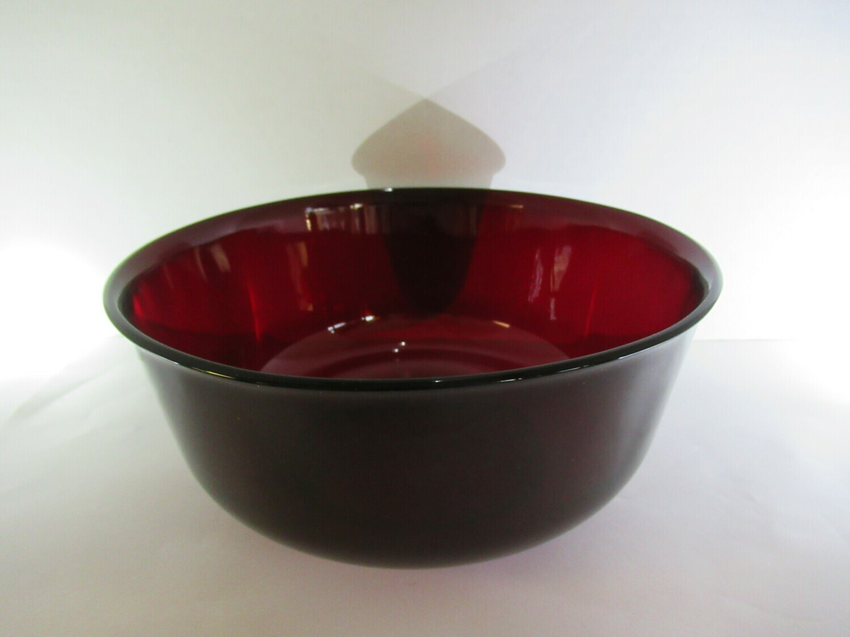 Red Mixing Bowl