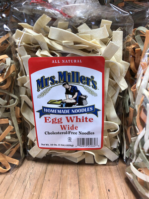 Egg White Noodles Wide